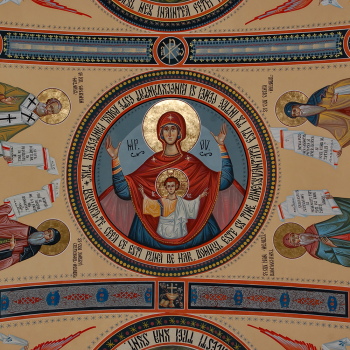 Pictura bisericeasca [Bumbu Constantin, Bumbu Emanuel, Bumbu Liviu]: Biserica 'Adormirea Maicii Domnului' Manastirea Dumbrava, Com. Unirea, Alba