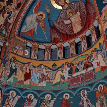 Picturi bisericesti [Bumbu Constantin, Bumbu Emanuel, Bumbu Liviu]: Biserica 'Adormirea Maicii Domnului' Manastirea Dumbrava, Com. Unirea, Alba
