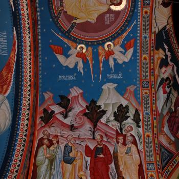 Picturi religioase [Bumbu Constantin, Bumbu Emanuel, Bumbu Liviu]: Biserica 'Adormirea Maicii Domnului' Manastirea Dumbrava, Com. Unirea, Alba