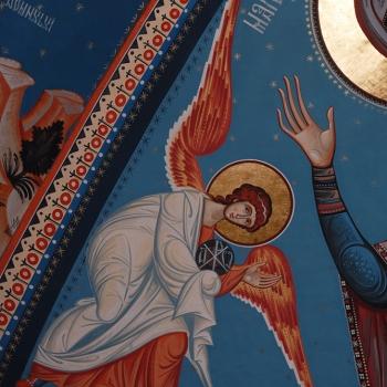 pictura bisericeasca, Bumbu Liviu, Manastirea Adormirii Maicii Domnului, Dumbrava, Alba-Iulia