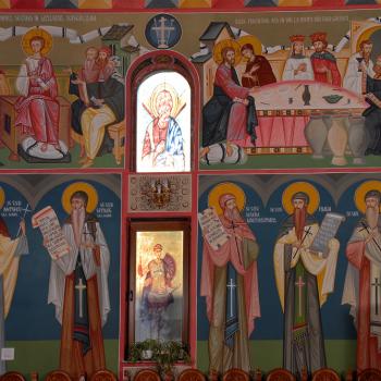 Picturi religioase [Bumbu Constantin, Bumbu Emanuel, Bumbu Liviu]: Biserica 'Petru si Pavel' Ghimbav, Brasov