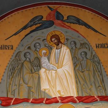 Pictura religioasa [Bumbu Constantin, Bumbu Emanuel, Bumbu Liviu]: Biserica 'Buna Vestire' Geoagiu, Hunedoara