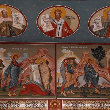 Pictura bisericeasca [Bumbu Constantin, Bumbu Emanuel, Bumbu Liviu]: Biserica 'Sf. Treime', 'Sf. Cuvioasa  Paraschiva' - Hunedoara
