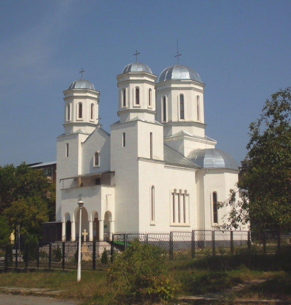 Pictura bisericeasca [Bumbu Constantin, Bumbu Emanuel, Bumbu Liviu]: Biserica 'Petru si Pavel' - Harau, Hunedoara