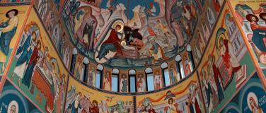 """Biserica """"Adormirea Maicii Domnului"""" – Manastirea Dumbrava, Com. Unirea, Alba"""